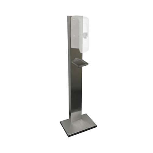 S/S Wall Sited Hand Pedestal Station With Drip Tray Stainless Steel