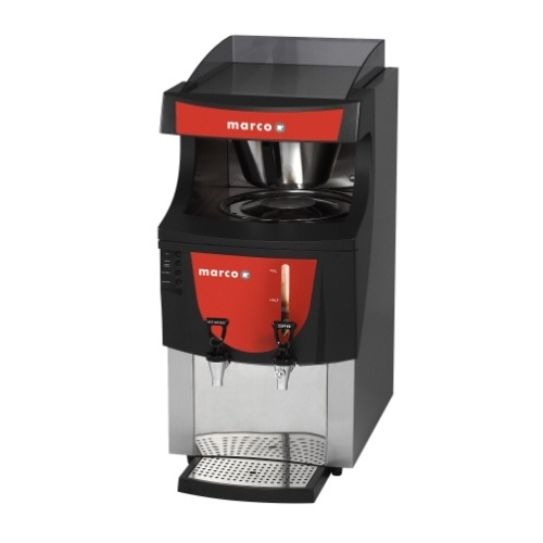 Marco  Filter Coffee Machine Qwikbrew 6 5.5 Litre / 56 Litre Stainless Steel and Black
