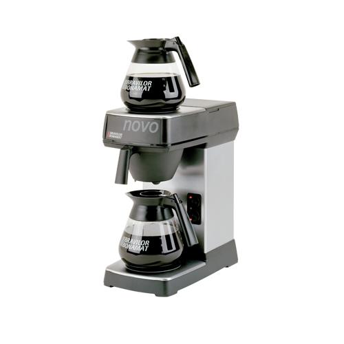 Bravilor Novo Quick Coffee Filtering Machine Stainless Steel & Black