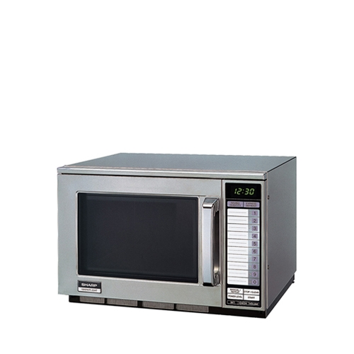 Sharp R22AT Touch Control Microwave 1500W 20Ltr Stainless Steel