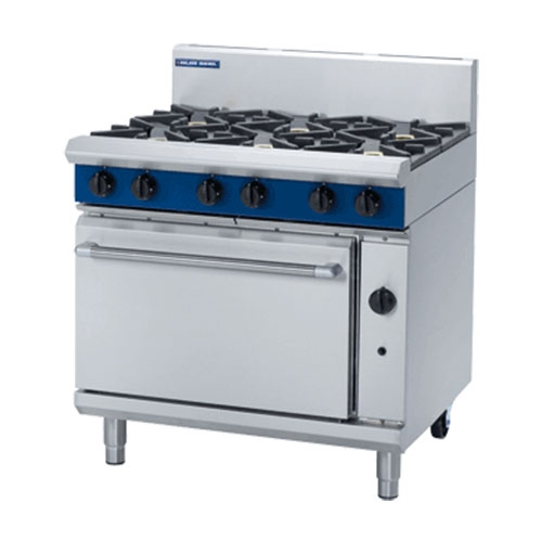 Blue Seal Gas Cooktop Oven Range G506D Stainless Steel