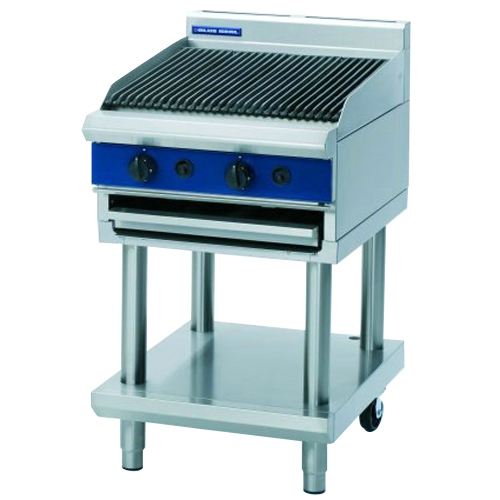 Blue Seal Gas Chargrill With Leg Stand G594-LS Stainless Steel