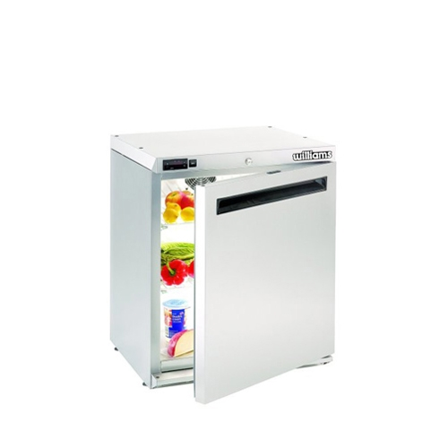 Williams Amber Undercounter Refrigerator HA135SA 135 Litres Stainless Steel