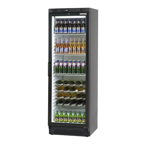 Autonumis Hi-Line Upright Bottle Cooler 242 Bottles Black