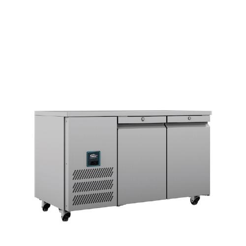 Williams Refrigerator 2 Door Counter HJC2 374 Litres Stainless Steel