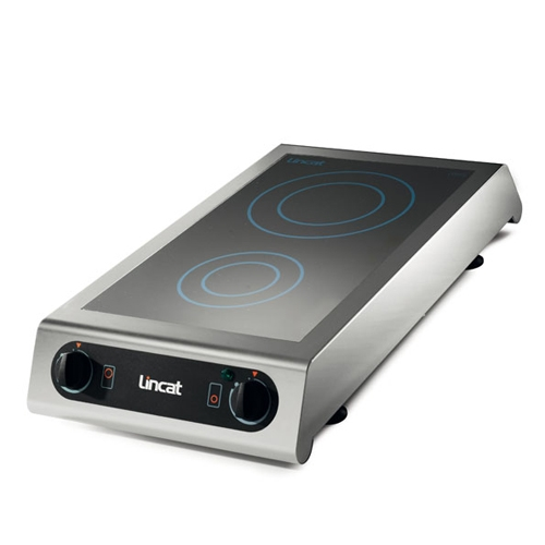 Lincat Tandem' Style Table Top Induction Cooker IH21 Stainless Steel