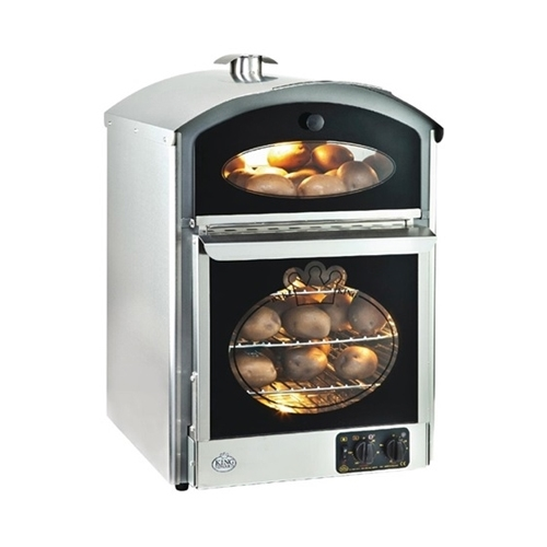 Click to view product details and reviews for King Edward Potato Baking Oven Stainless Steel Each.