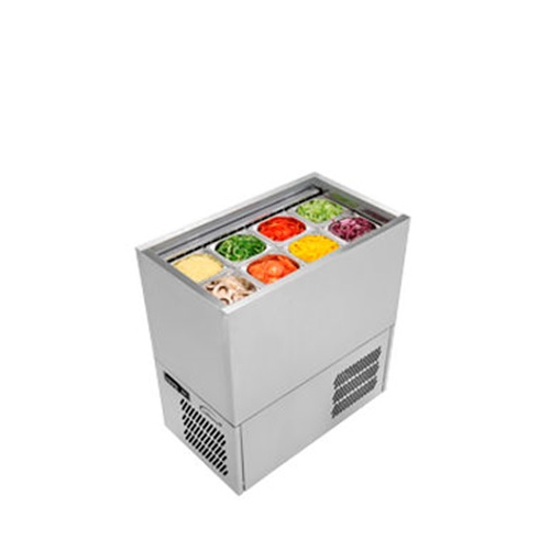 Williams Refrigerated Prep Well PW4 Stainless steel