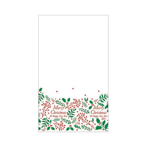 Swantex Jolly Holly & Ivy Paper Banqueting Roll 120cm x 25m White, Red & Green