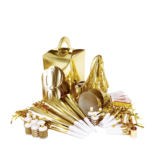 Click to view product details and reviews for 10 Person Large Party Box Gold 1 X 8.