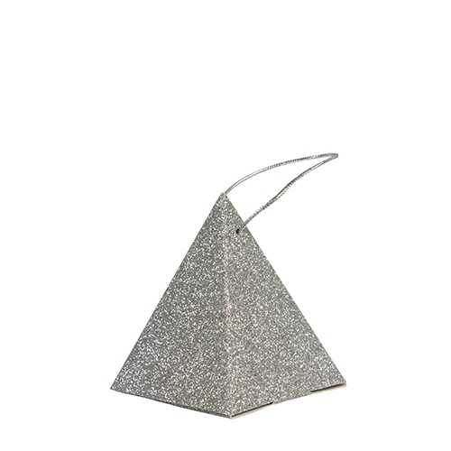 Sparkles Pyramid Party Box Silver