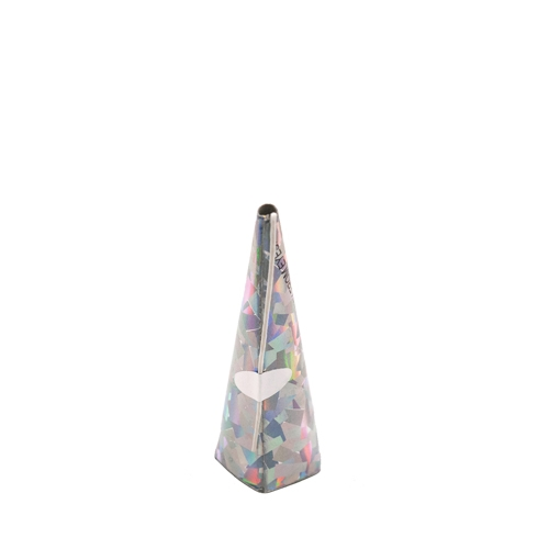 Holographic Cone Party Popper Silver