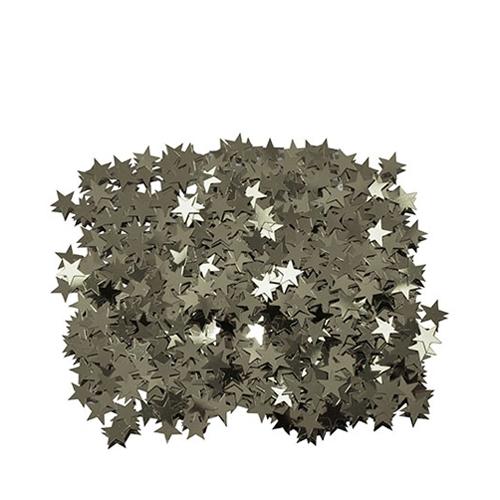 Silver  Stars Confetti 28g