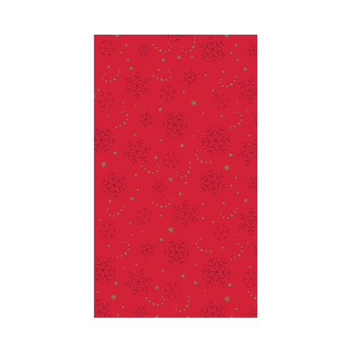Airlaid Festive Greetings Table Runner 12m Red