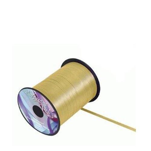Balloon Ribbon 500m Gold