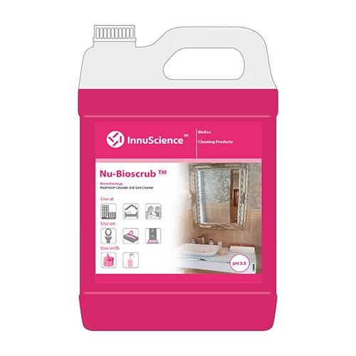 InnuScience Nu-Bio Scrub Sani Cleaner & Toilet Cleaner 5Ltr Pink