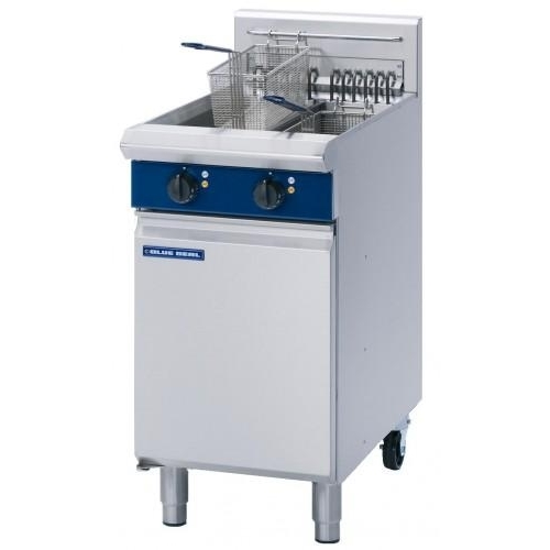 Blue Seal Electric Twin Pan Fryer E44 Stainless Steel
