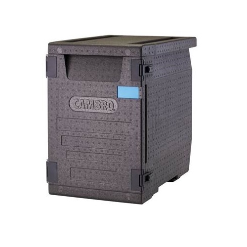 EPP Cam GoBox Cambro GoBox Insulated Carrier 86Ltr EPP400 645mm (W) x 440mm (D) x 630mm (H) Black