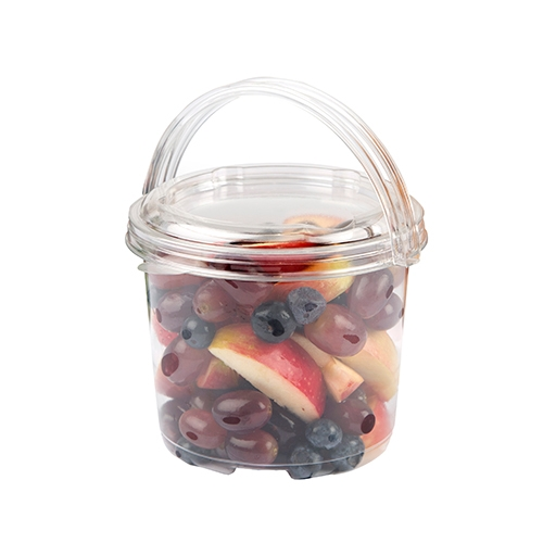 Coveris Hyacinth Container Lid Clear