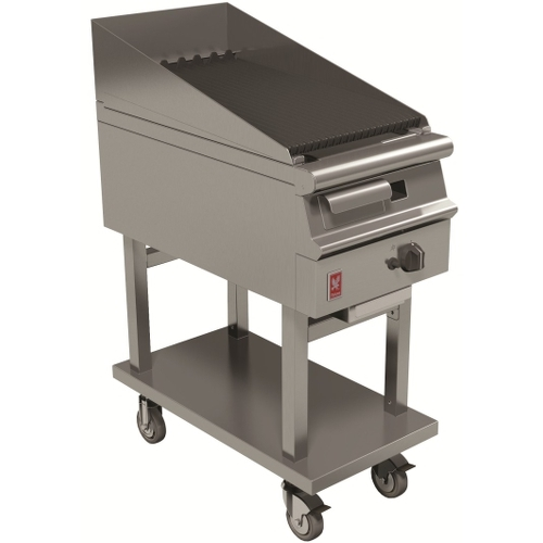 Falcon Dominator Plus Radiant Chargrill G3425 Mobile Stainless Steel